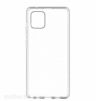 MaxMobile silikonska zaštita za Samsung Galaxy A12: prozirna