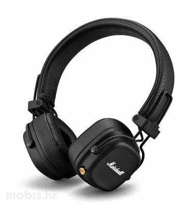 Marshall Major 4 bežične slušalice: crne