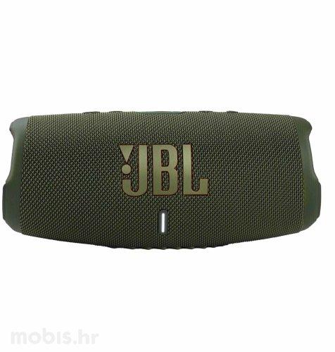 JBL Charge 5 bluetooth prijenosni zvučnik: zeleni