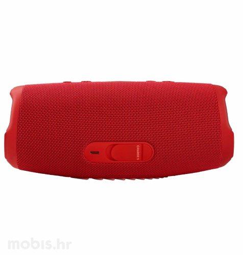 JBL Charge 5 bluetooth prijenosni zvučnik: crveni