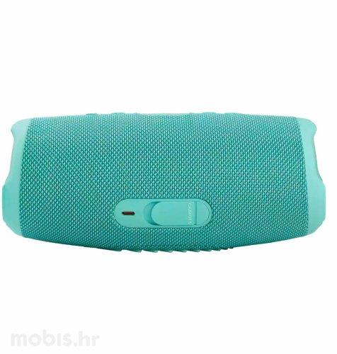 JBL Charge 5 bluetooth prijenosni zvučnik: svijetlo plavi