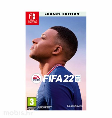 FIFA 22 igra za Nintendo Switch