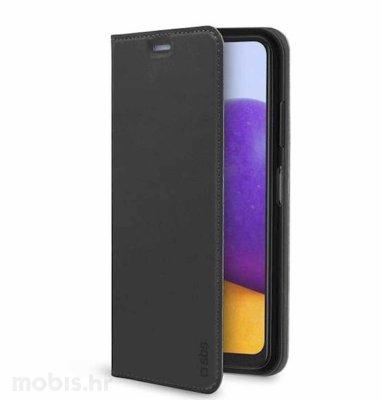 Cellularline preklopna maska za Samsung Galaxy A22 5G: crna