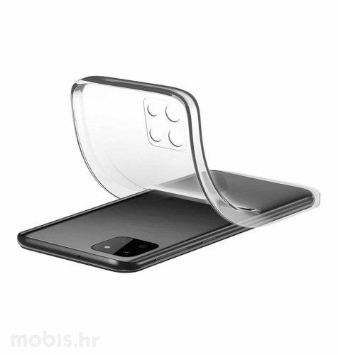 Cellularline silikonska zaštita za Samsung Galaxy A22 5G: prozirna