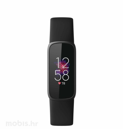Fitbit Luxe pametna narukvica: crna