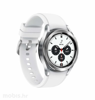 Samsung Galaxy Watch 4 Classic (42mm): srebrni